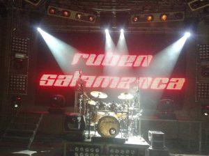 Clases de batería con Rubén Salamanca…¡¡y gratis!!